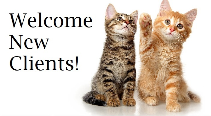 Welcome New Clients!